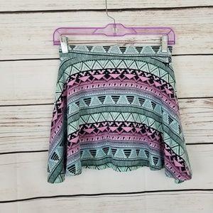 VS PINK Aztec Print Mini Skirt